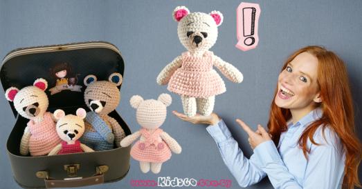 crochet-amigurumi-teddy-bears